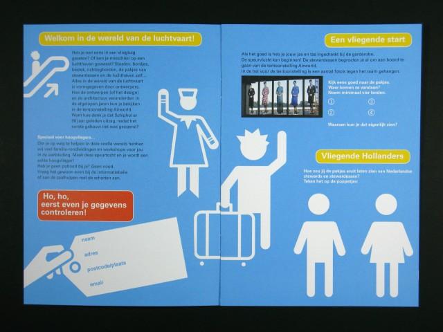 speurvlucht brochure