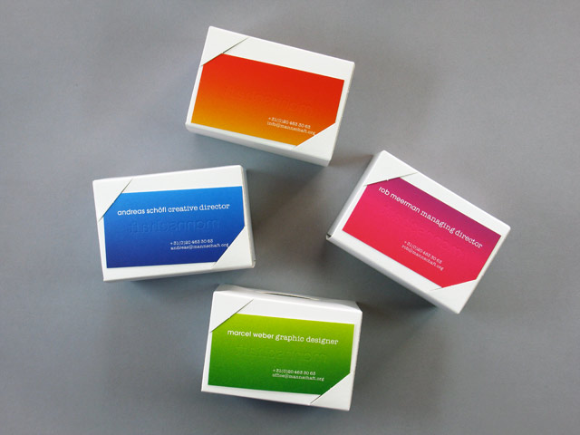 business cards boxes