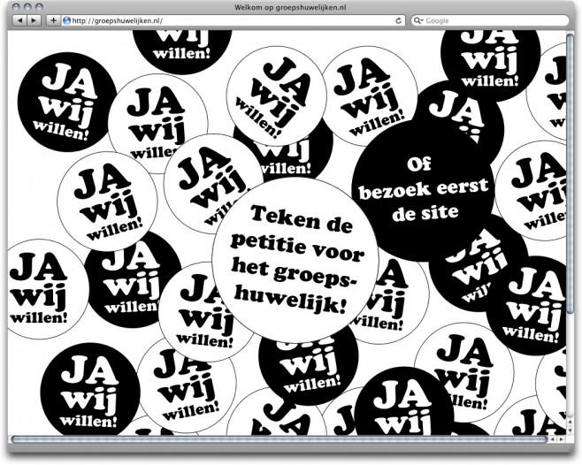 www.groepshuwelijken.nl, startpage